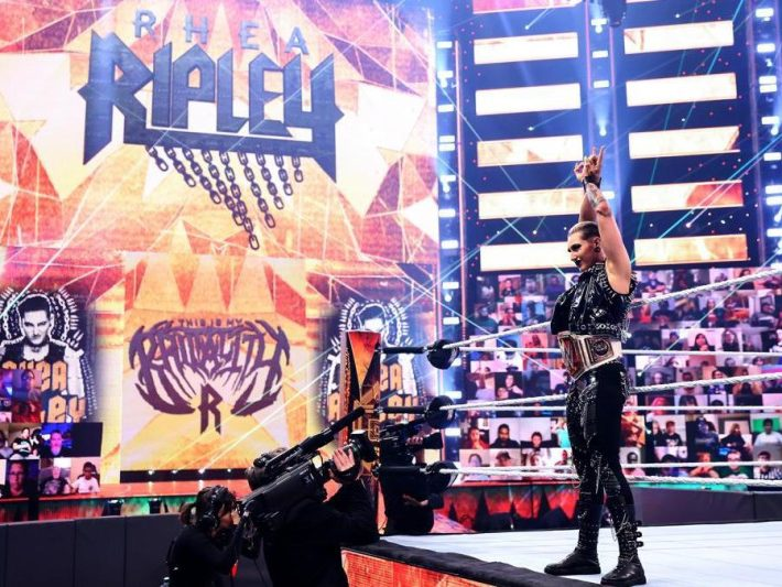 Rhea Ripley Talks WWE Money in the Bank, Fans Returning, Arriving on Raw, More